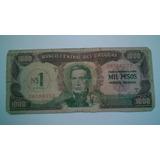 Nota De Mil Pesos Do Uruguay