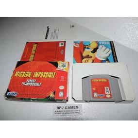 Mission Impossible Original C/ Caixa E Manual P/ Nintendo 64
