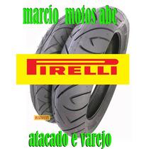 Par Pneu Twister250 110/70-17 140/70/17 Pirelli Sport Demon