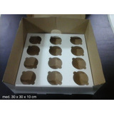 25 Cajas P/ Cupcakes X 12 Apilables