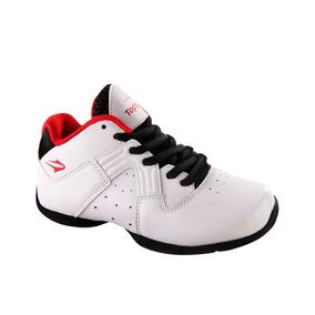 Botas Topper Basketball Jamball Ii Kids Blanco Niños - 47595