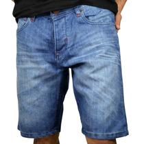 Bermuda Jean Medio Modelo 16851 Jhon Hombre Mistral V17