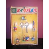 Puzzle Llaveros-kawada Japon Decada 60- Devoto Toys