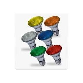 Lâmpada Par 20 Color 220v X 50w E-27 (ambar, Azul, Verm.)