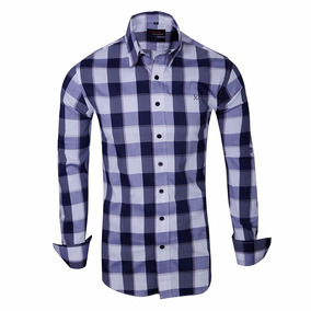Camisas A Cuadros Elastizadas Entalladas- Quality Import Usa