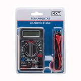 Multímetro Digital Mxt Dt 830-b Preto