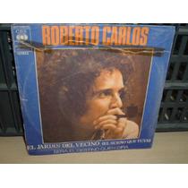 Roberto Carlos En Cast El Jardin Del Vecino Simple C/tapa