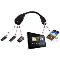 Cabo Otg Lig Pendrive Tablet Celular Moto Lg Samsung Foston