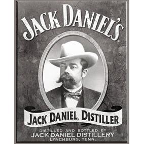 Carteles Antiguos Chapa Gruesa 60x40cm Jack Daniels Dr-071