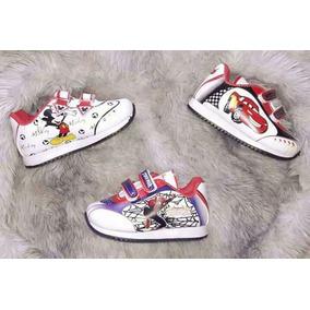 Zapatillas De Spider Hombre Arañas Para Niños. Talle 21 Al 5