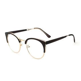 Armação Óculos De Gra Redondo Grande Masculino Feminino Oa
