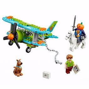 Scooby Doo Boneco Set Avião Misterioso Padrão Lego