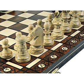 Chimenea-juego De Ajedrez De Madera - Junta 21x21 Pulgadas
