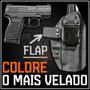 Coldre Magnum Interno Iwb Kydex Pistola Taurus Pt 638, 640