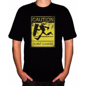 Camiseta Game Lol League Of Legends Caution Don