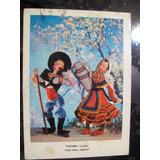 Postal Antigua Propaganda Abbott Traje Tipico Toledo