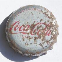 Tampinhas Antigas - Refrigerante Coca-cola (marca Reg.)