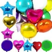Mini Globos Metalizados Estrella-corazon