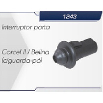 Interruptor Botão Da Porta Corcel 2 Belina Com Guarda Pó