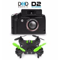 Mini Nano Drone Quadrotor Jjrc Dhd D2 C Camera Hd 2mpx
