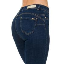 · Jeans Furor Pink Mezclilla Stone Levanta Pompa Gzi3628