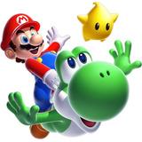 Cenefas De Mario Bros Decorativa Adhesiva