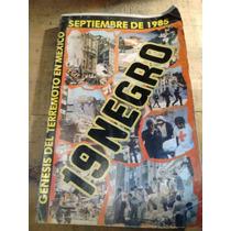 Libro 19 Negro Referente Al Terremoto De 1985