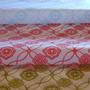 Papel Barrilete Seda Estampado Flores 50x70cm 100 Hojas