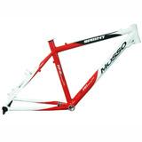 Quadro Mosso Sprint Alumínio 7046 26x16.5 Branco Vermelho