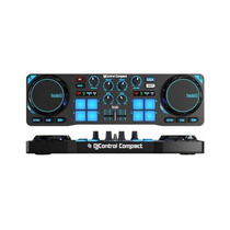 Consola Hercules Dj Control Compact Usb Virtual Mixer Mp3