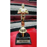 Estatuilla Símil Premio Oscar De Plástico Día Del Amigo