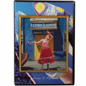 Dvd Cyndi Lauper - Suitcase Of Memories - Video Collection