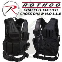Chaleco Rothco Original Tactico Cross Draw Calidad Premium