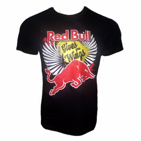 Camiseta Moto Red Bull Gives You Wings - Oferta Relâmpago