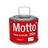 Arame Farpado Motto 250m 1,6mm Torção De Fio Belgo