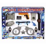 Kit Policial Infantil 11 Peças - Pica Pau