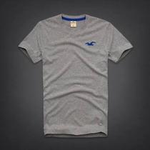 Camisetas Hollister Para Hombre Cuello V