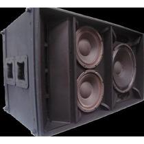 Line Array Curvo & Eighteensound Kf 421 (caja Vacia)