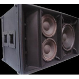 Line Array Curvo & Eighteensound Kf 421 (caja Vacia)