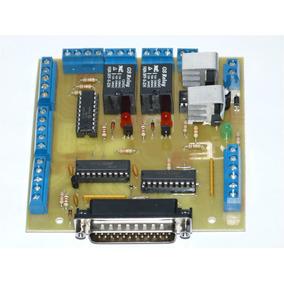 Interfaz Lpt Para Fresadora O Router Cnc - 3 Ejes