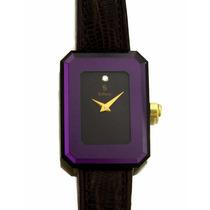 Relógio De Pulso H.stern Feminino De Safira Em Aço J17307