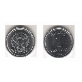 Moeda Rara 1 Centavo 1986