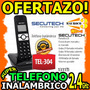 Wow Telefono Inalambrico Secutech Linia Dial-up Con Pantalla