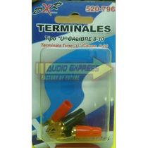 Terminales Con Forro Tipo U Calibre 8 520796