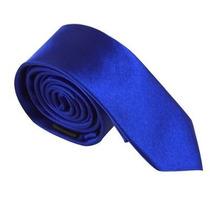 Gravata Lisa Brilhante - Azul Royal / Bic Casamento, Festas
