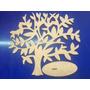 Árvore Decorativa 30cm Altura Em Mdf Cru 3mm Toten,decoração