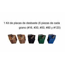 Kit Placas Desbaste Diamantadas Para Pisos Concreto Epoxico