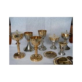 Caliz, Copon, Vaso Sagrado, Teca, Restaurados