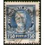 Mónaco Sello Usado X 1,50 Fr. Príncipe Louis 2° Año 1933