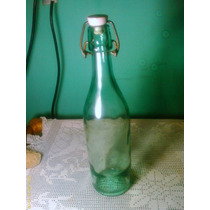 Botella De Alcohol La Estrella Antigua